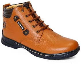 Men Brown Chukka Boots
