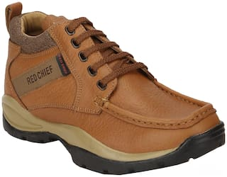 Red Chief Men Tan Casual Shoes - RC2051-D