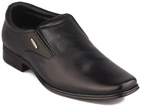 Men Black Slip-On Formal Shoes