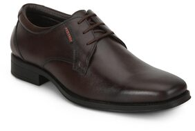 Red Chief Men Brown Formal Shoes