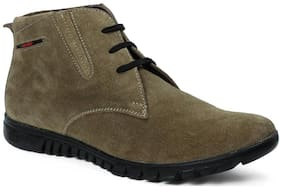 Red Chief Men's Green Chukka Boots
