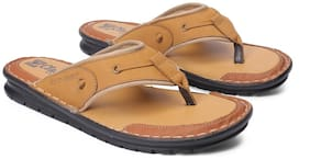 Red Chief Men Tan Outdoor slippers