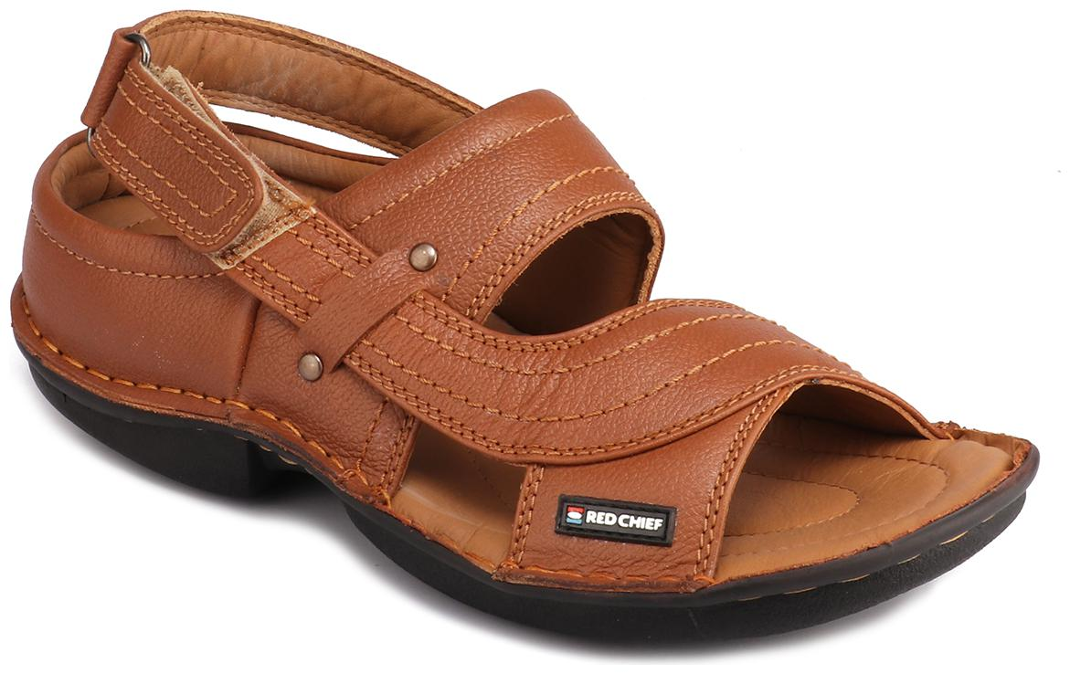 Tan Casual Leather Sandal Rc0247 006