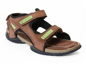 Red Chief Men's Brown Casual Leather Sandal Rc219 095