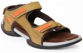 Red Chief Men's Brown Casual Leather Sandal Rc219 004