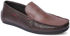 Men Brown Loafers ,Pack Of 1 Pair