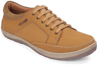 Red Chief Rust Leather Men's Sneakers Derby Shoe (RC3554 022)