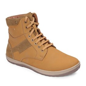 Red Chief Rust Leather Men's Sneakers Shoe (RC3548 022)