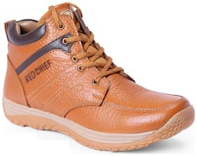 Red Chief Men's Tan Casual Leather Shoes Rc3519 107