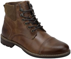 Red Tape Men's Brown Ankle Boots