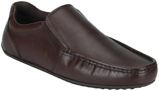 Red Tape Men Brown Slip-On Formal Shoes