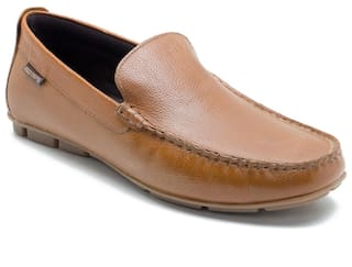Red Tape Men Tan Loafers