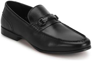Red Tape Men Black Slip-On Formal Shoes - RTS1171