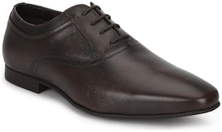 Red Tape Men Brown Oxford Formal Shoes - RTE312