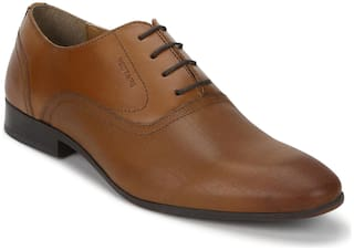 Red Tape Men Tan Oxford Formal Shoes - RTS11563D