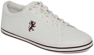 Red Tape Classic Sneakers For Men ( White )