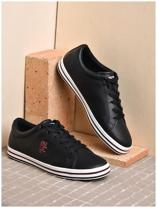 Red Tape Athleisure Sneakers For Men ( Black )
