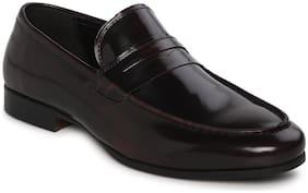 Men Brown Slip-On Formal Shoes ,Pack Of 1 Pair