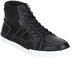 Men Black Chukka Boots ,Pack Of 1 Pair