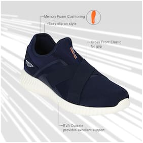 Red Tape Men Walking Shoes ( Navy Blue )