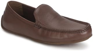 Red Tape Men Brown Slip-On Formal Shoes - RTS1149