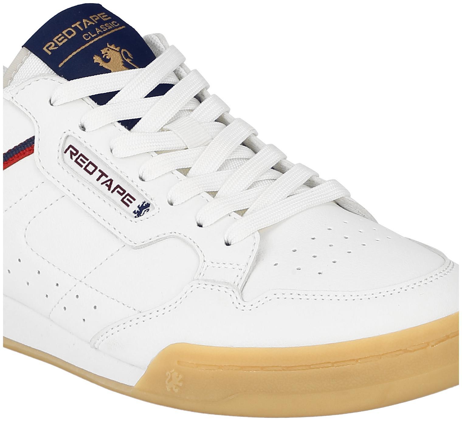 Buy Red Tape Classic Shoe Men White