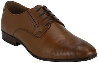 Red Tape Men Tan Formal Shoes