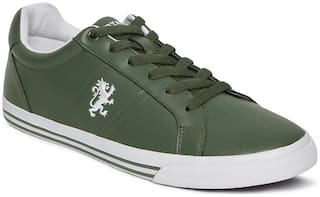 Red Tape Classic Sneakers For Men ( Green )