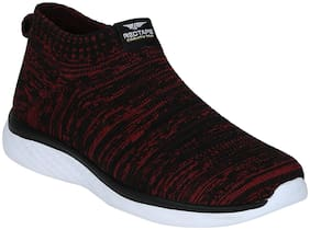 Red Tape Men Walking Shoes ( Maroon )