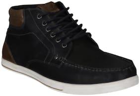 Men Navy Blue Classic Sneakers