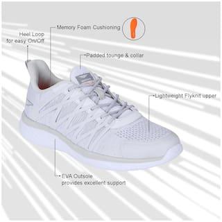 Red Tape Men Walking Shoes ( White )