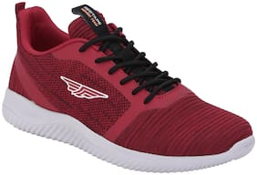 Red Tape Men Walking Walking Shoes ( Red )