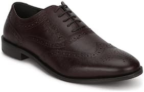Men Brown Brogues Formal Shoes