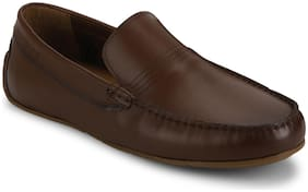 Men Brown  Loafers ,Pack Of 1 Pair
