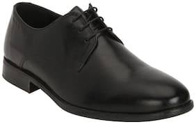 Red Tape Men Black Derby Formal Shoes
