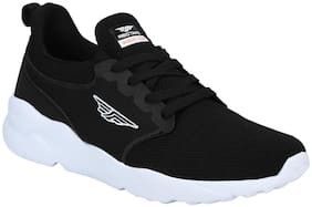 Red Tape Men Black Athleisure Range Sports Walking Shoes