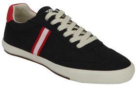 Red Tape Men's Black Sneakers