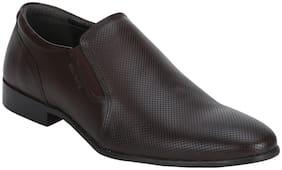 Red Tape Men Brown Slip-On Formal Shoes
