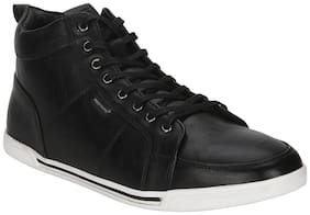 Red Tape Men Black Casual Shoes