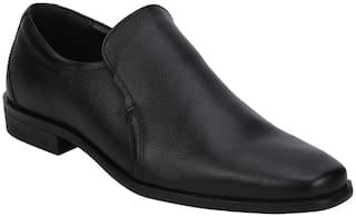 Red Tape Men Black Slip-On Formal Shoes - RTE1411