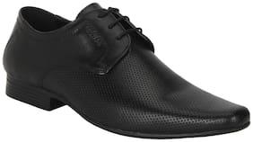 Red Tape Men Black Derby Formal Shoes