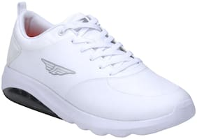 Red Tape Men White Athleisure Sports Walking Shoes