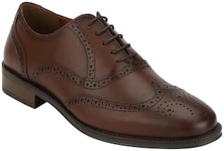 Red Tape Men Brown Brogues Formal Shoes - RTE1676 - RTE1676