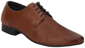 Red Tape Men Tan Derby Formal Shoes