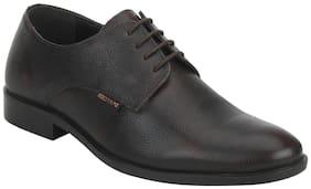 Red Tape Men Brown Derby Formal Shoes