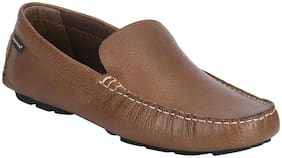 Red Tape Men Brown Loafer