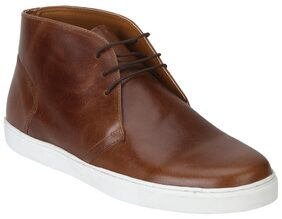 Red Tape Men Tan Boots