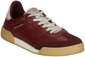 Men Maroon Classic Sneakers