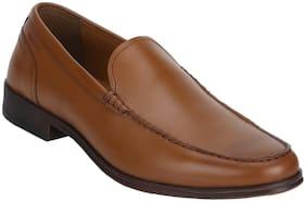 Red Tape Men Tan Slip-On Formal Shoes