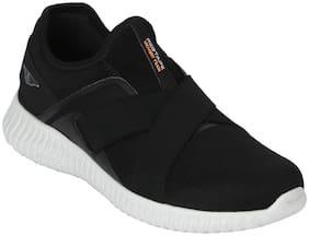 Red Tape Men Black Athleisure Sports Range Walking Shoes